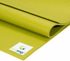 Ecoyogi Studio Yoga Mat Groen - 200 cm - extra lang