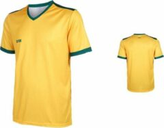 VSK Fly Voetbalshirt Blanco Geel-Groen-164
