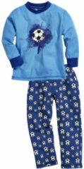 Playshoes pyjama voetbal donkerblauw jongens maat 80