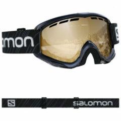 Salomon - Kid's Juke Access S2 VLT 22% - Skibrillen maat One Size, zwart/beige