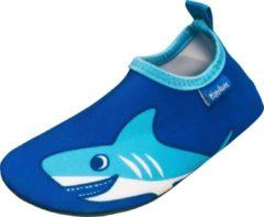 Playshoes - Kid's UV-Schutz Barfuß-Schuh Hai - Watersportschoenen maat 18/19, blauw/turkoois