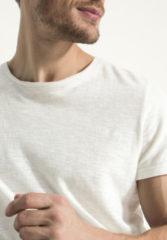 Hessnatur Herren Shirt aus Hanf mit Bio-Baumwolle – weiß – Größe 54