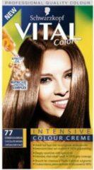 Goudkleurige Schwarzkopf Vital Colors 77 Donker Goudbruin - Haarverf