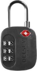 Accessoires Vorhängeschloss TSA II Delsey schwarz