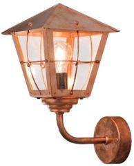 Konstsmide Fenix 438-900 Buitenlamp (wand) Energielabel: Afhankelijk van de lamp Spaarlamp, LED E27 60 W Koper