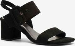 Nova dames sandalen met hak - Zwart - Maat 42