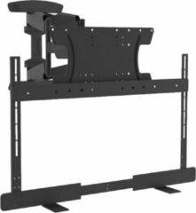 Zwarte Cavus WME104 BST300 Draaibare Tv Muurbeugel & Ophangbeugel geschikt voor Bose Soundtouch 300 / Soundbar 700 & VESA Tv - 25kg
