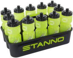 Stanno Bottle Carier Set Deluxe 12 Stuk - Accessoires - zwart - One size