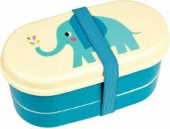 Groene Dotcomgiftshop Bentobox/ lunchbox Olifant
