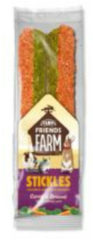 Supreme Tiny Friend Farm Stickle 100 g - Knaagdiersnack - Wortel&Broccoli