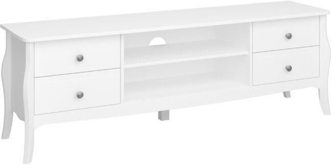 Afbeelding van DS Style Tv-meubel Baroque 160 cm breed in wit
