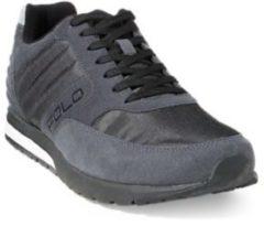 Grigio Sneaker tecniche Laxman in camoscio