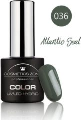 Groene Cosmetics Zone UV/LED Hybrid Gel Nagellak 7ml. Atlantic Seal 036