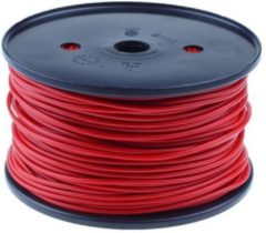 QSP Products PVC stroomkabel Rood 1 x 6,0 mm2 (p/m1).