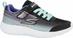 Skechers Kinderen Zwarte lightweight sneaker - Maat 33