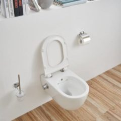 Douche Concurrent Wandcloset - Hangend Toilet Easy Flush Slim met Bidet