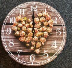 Nowi Design Klok met rozen