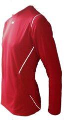 KWD Sportshirt Mundo - Voetbalshirt - Volwassenen - Maat L - Rood/Wit