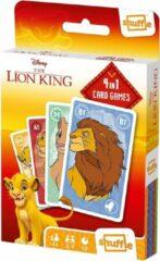 Shuffle Kaartspel 4-in-1 Lion King 56 X 87 Mm Karton
