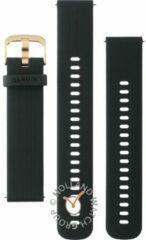 Garmin - Siliconen bandje - Forerunner/vivo - 20 mm - Zwart