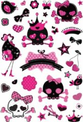 Stickers Herma 3683 MAGIC Pirat meisje, folie Glittery