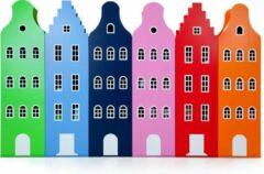 Klokgevel kast Amsterdam. Kast van een Huis. 216/60/40 cm. Tairormade kleur. Wenskleur.