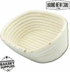 BrandNewCake Rijsmandje Riet Ovaal 400g (20x14cm) - Banneton voor Deeg Rijzen en Brood Bakken