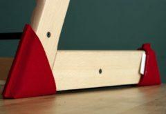 Kidsidee Sokkoo's Vloerbeschermers voor de kinderstoel, kleur Brandweer Rood