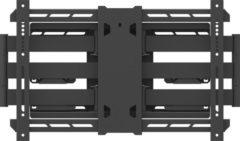 Zwarte Multibrackets Muursteun Universal Flexarm Pro 125 kg Super Duty Plus
