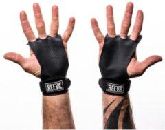 Reeva carbon grips - crossfit grips - crossfit handschoenen -zwart - small