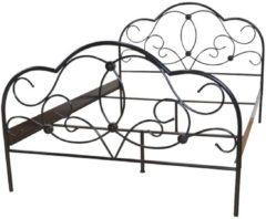 Metallbett 160x200 cm Gretel Möbel-Direkt-Online schwarz