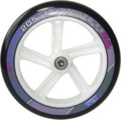 HUDORA für Mod. 14748 PU-Rolle Big Wheel Ø 205 mm , weiß/lila (1 Stück)