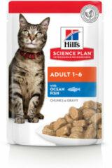 Hill's Feline Adult Pouch Zeevis 85 gr