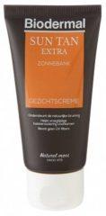 Biodermal zonnebankcreme - Sun Tan Extra Gezichtscrème - 50 ml