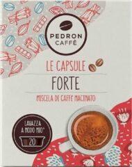 Pedron Caffe Forte Lavazza A Modo Mio Capsules - 20st