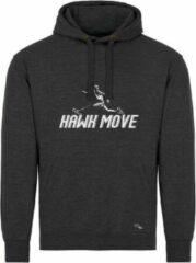 Marineblauwe Pattinaggio Inline skaten hoodie met print