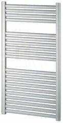 Designradiator Haceka Sinai Satijn Adoria 59x111 cm Grijs Onderaansluiting (566 Watt)