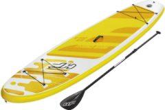 Gele Bestway Sup Board Aqua Cruise
