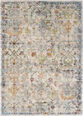Impression Rugs Picasso Sarough Vintage Vloerkleed Creme / Beige Laagpolig - 80x150 CM