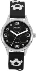 Coolwatch by Prisma CW.351 Kinderhorloge Voetbal staal/siliconen blauw-wit 30 mm