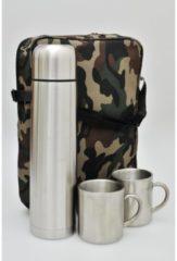 Thermoset Camouflage HTI-Line Grün, Silber
