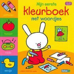 Deltas Boek Lange Oortjes Mijn Eerste Kleurboek met Woordjes (1-3 jaar)