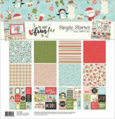 "Simple Stories: Oh What Fun Collection Kit 12""X12"" (OWF9286)"