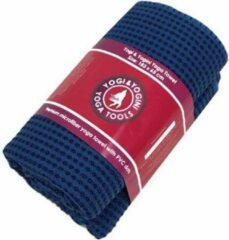 Yogi & Yogini Yoga handdoek PVC antislip blauw