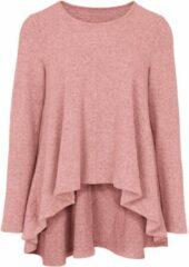 Roze Shirt met ronde hals