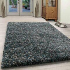 Enjoy Vloerkleed - Obe - Rechthoek - Blauw - 200 x 290 cm - Vintage, Patchwork, Scandinavisch & meer stijlen vind je op WoonQ.nl