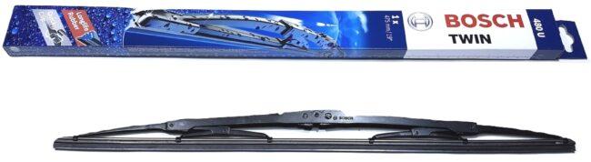 Afbeelding van Zwarte Bosch ruitenwisser 480U Lengte 47,5 cm