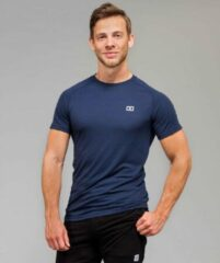 Marrald Performance Sportshirt | Blauw - M heren fitness crossfit
