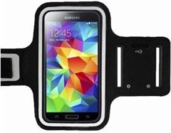 Samsung Galaxy Note 2 sports armband case Zwart Black