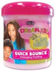 African Pride Dream Kids Olive Miracle Quick Bounce Pudding 425 gr